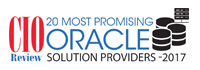 20 Most Promising Oracle Solution Providers - 2017